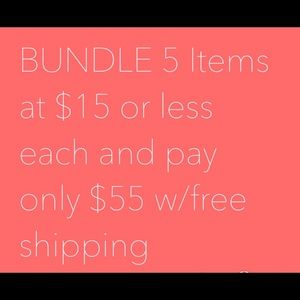 Tops - $55 dollar bundle deal